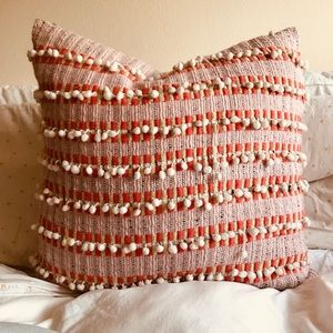 Anthropologie Pom Pom pillow